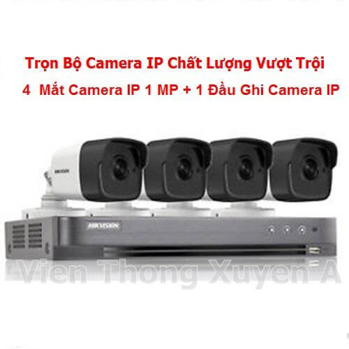 Camera IP Trọn Bộ KIT43