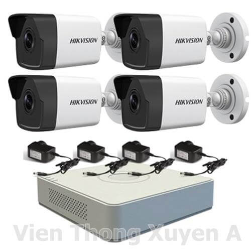 Trọn Bộ Kit Camera IP 1 Megapixel